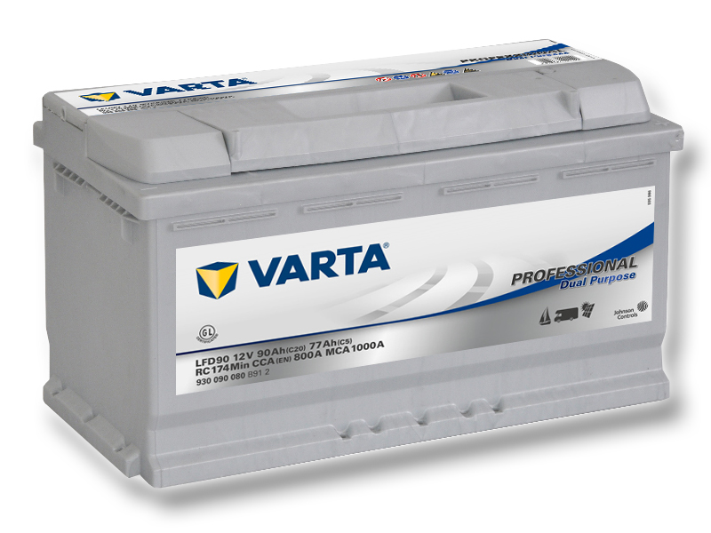 VARTA Professional Dual Purpose (Deep cycle) 90Ah, 12V, LFD90